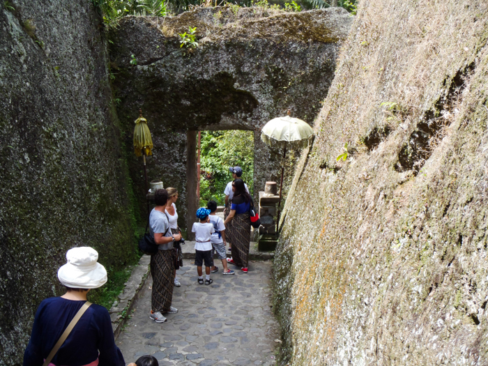Gunung Kawi's Rock Gate