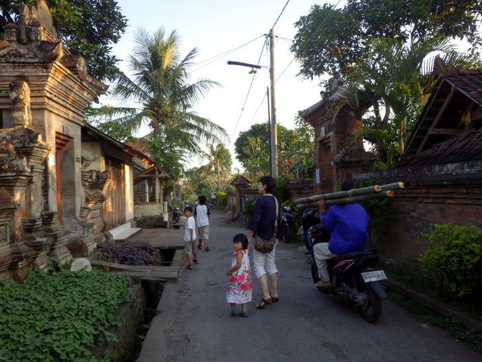 Back Streets in Ubud