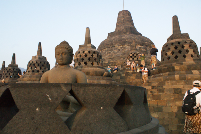 Top of Borobudur
